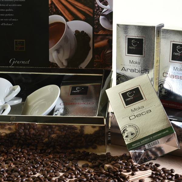 Gourmet coffee gift boxes