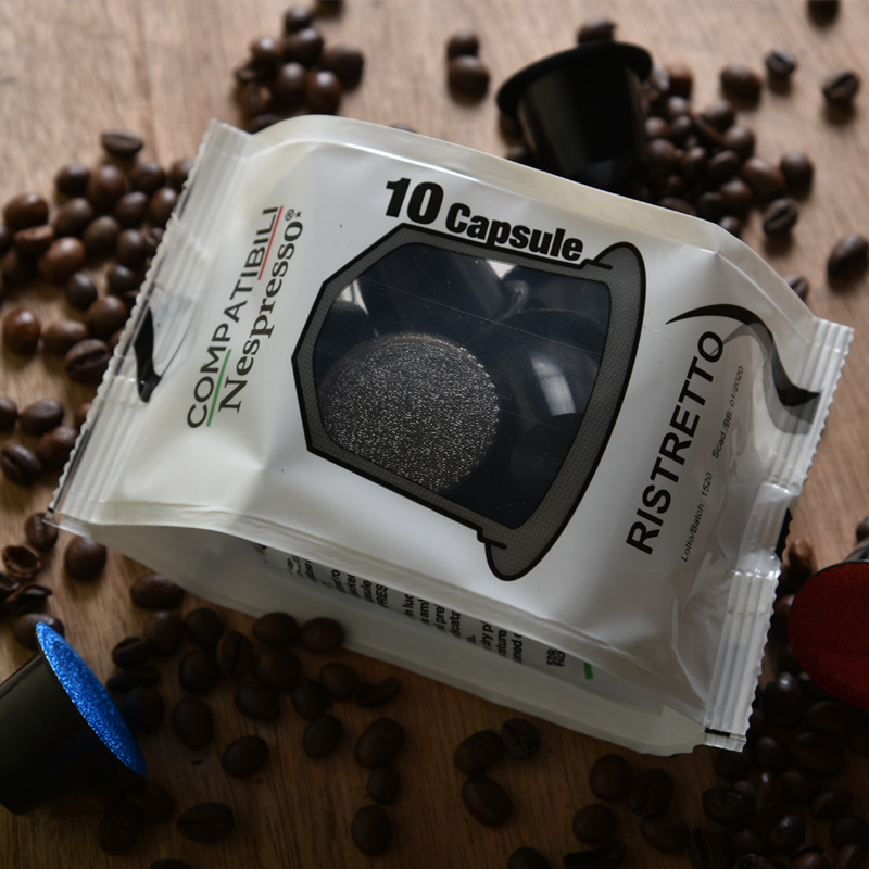 Compatible coffee capsules